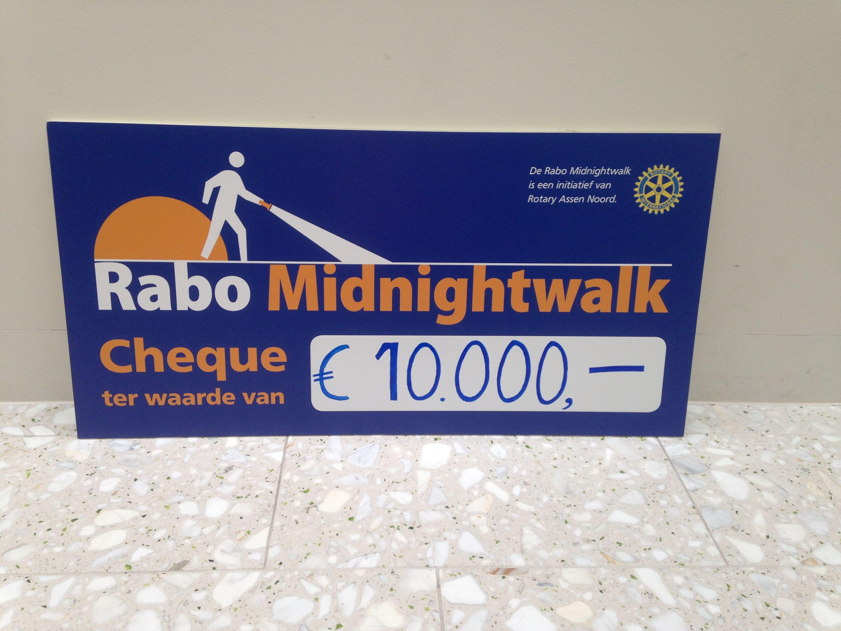 Rabo Midnightwalk 2014 groot succes