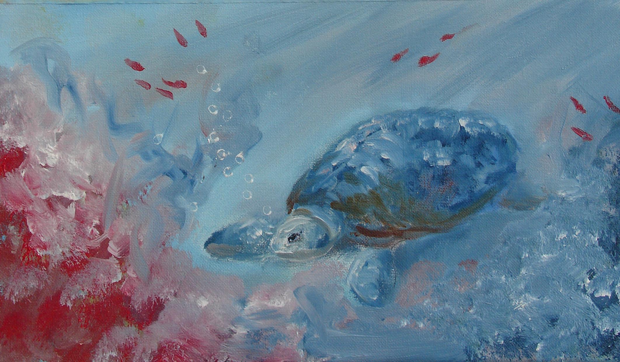 Geef kleur aan het koraal met een schilderworkshop bij WNF in Assen!