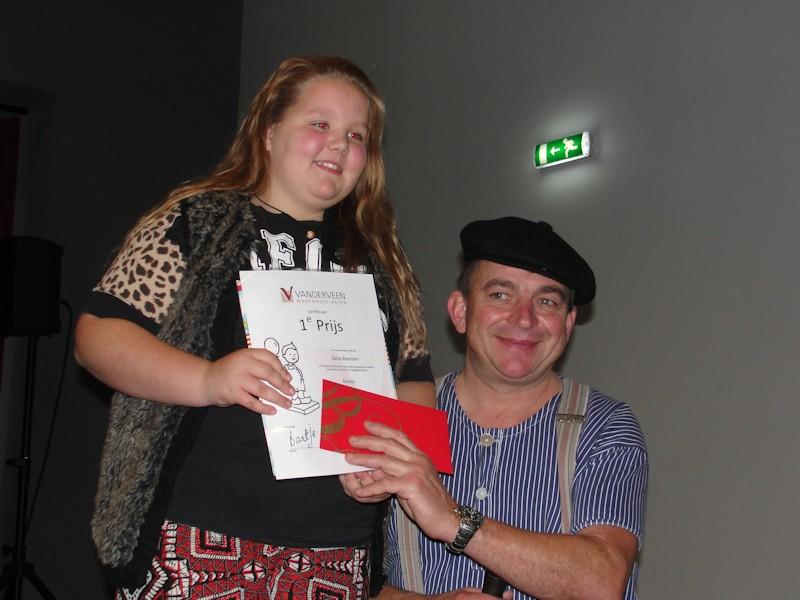 Dana Boertien wint Ballonnenwedstrijd Vanderveen
