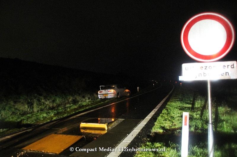 Gewond bij ongeval op bussluis in Assen