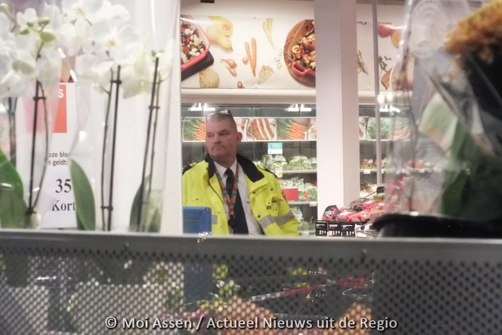 Video:Overval op Albert Heijn supermarkt in Assen (Update)
