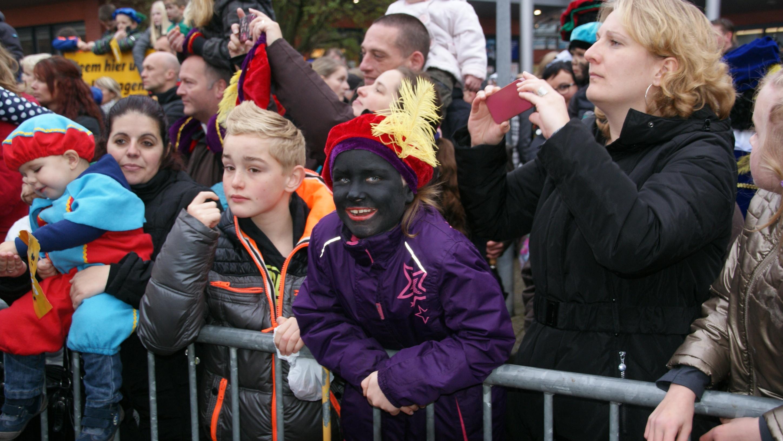 Sinterklaas ook aan gekomen in Marsepeindijk (Marsdijk)