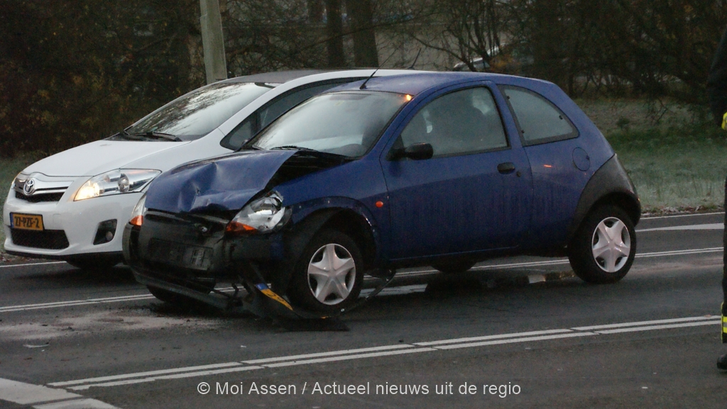 Kop-staart ongeval Europaweg-zuid