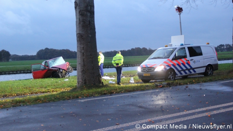 Dodelijk ongeval op Groningerstraat in De Punt