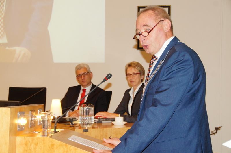 Marco Oud de nieuwe burgemeester