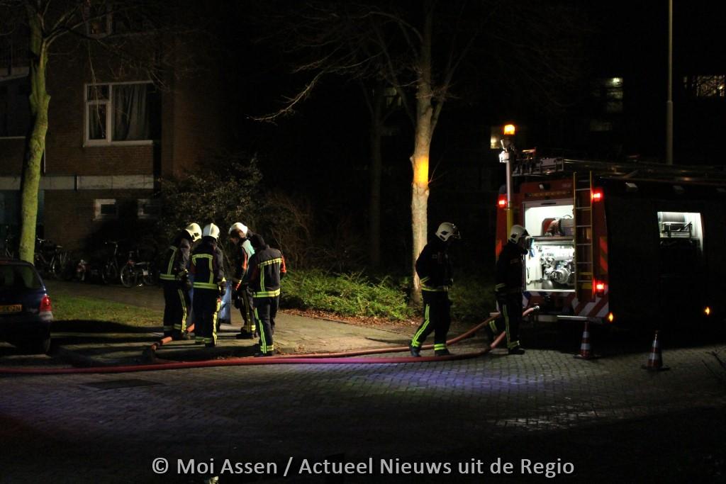 112kort:containerbrand oostermoer in Assen