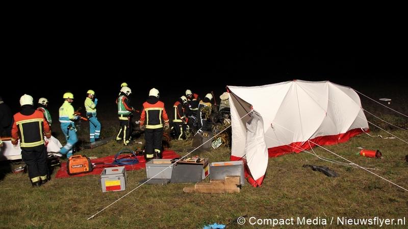 Man uit Gieten (85) overlijdt als gevolg van verkeersongeval op N33