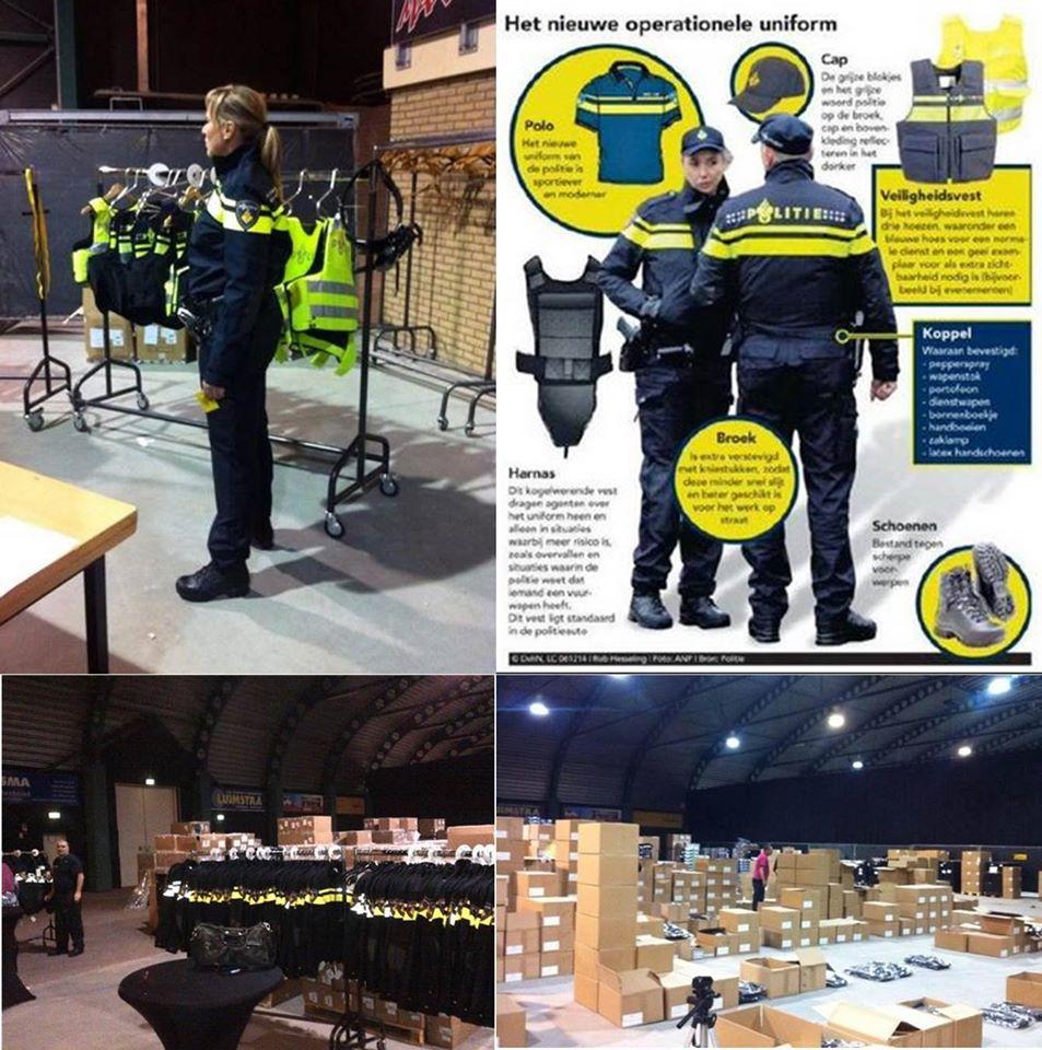 Petje en polo voor agenten in Noord Drenthe
