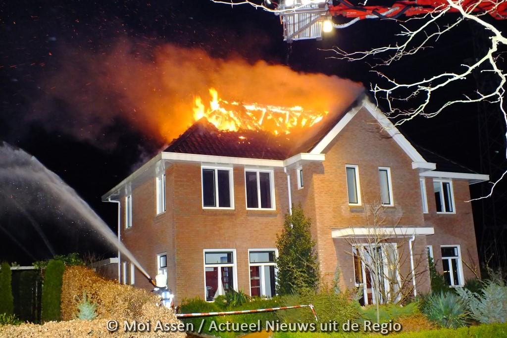57-jarige bewoner vrijgesproken van brandstichting in eigen woning aan de Hertenlaan in Assen