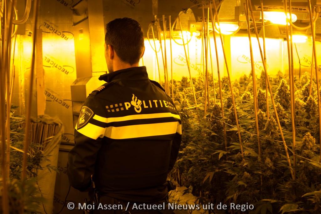 Onderzoek naar georganiseerde hennepteelt in Drenthe