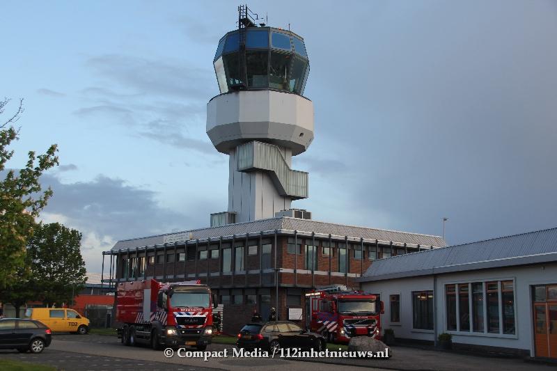Brand in kantoorgebouw Groningen Airport Eelde heeft invloed op parkeersysteem