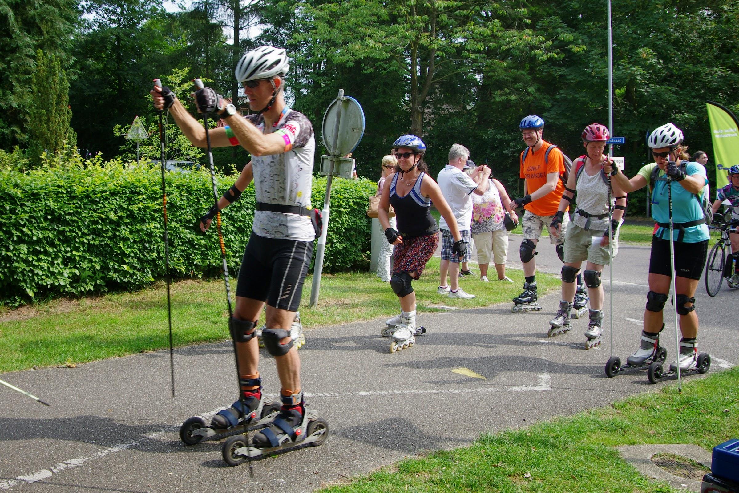 Drentse Skate2Daagse 2015 op 4 en 5 juli vanuit Wijster