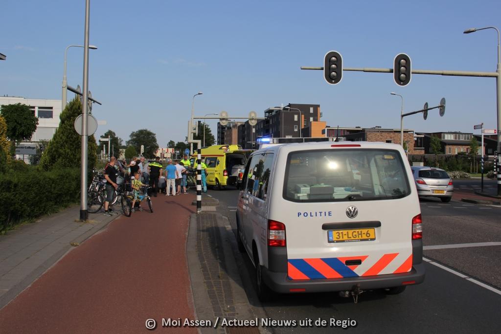 Ongeval op kruising Thorbeckelaan en Groningerstraat