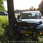 112 Kort: Auto van de weg in Assen