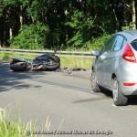 (Update):Motorrijder gewond bij ongeval op Witterhoofdweg in Assen
