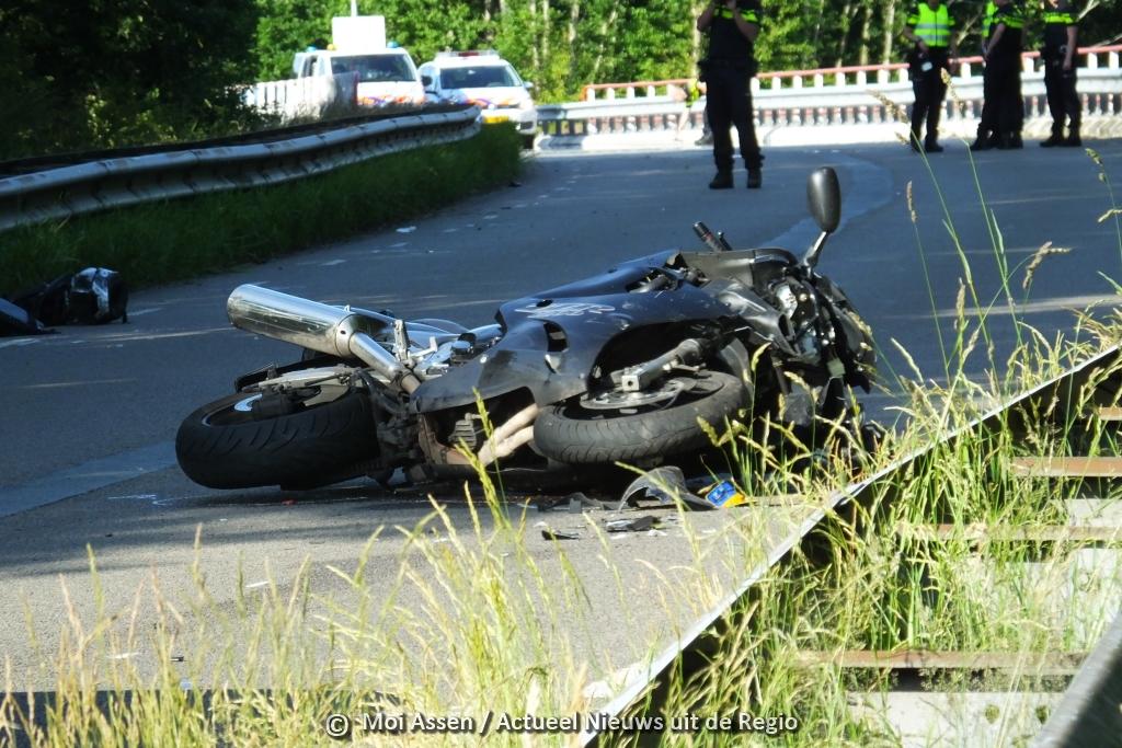 Werkstraf voor man uit Assen van het aanrijden motorrijder uit Bovensmilde