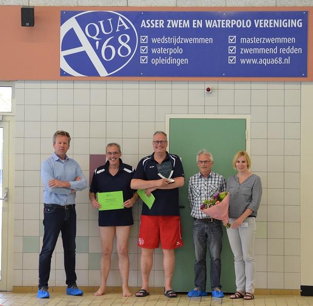 KNZB Waarderingsprijs voor G-zwemmen AQUA68