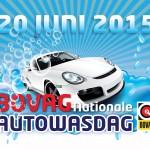 Zaterdag 20 juni Nationale Autowasdag bij Niels Autowas