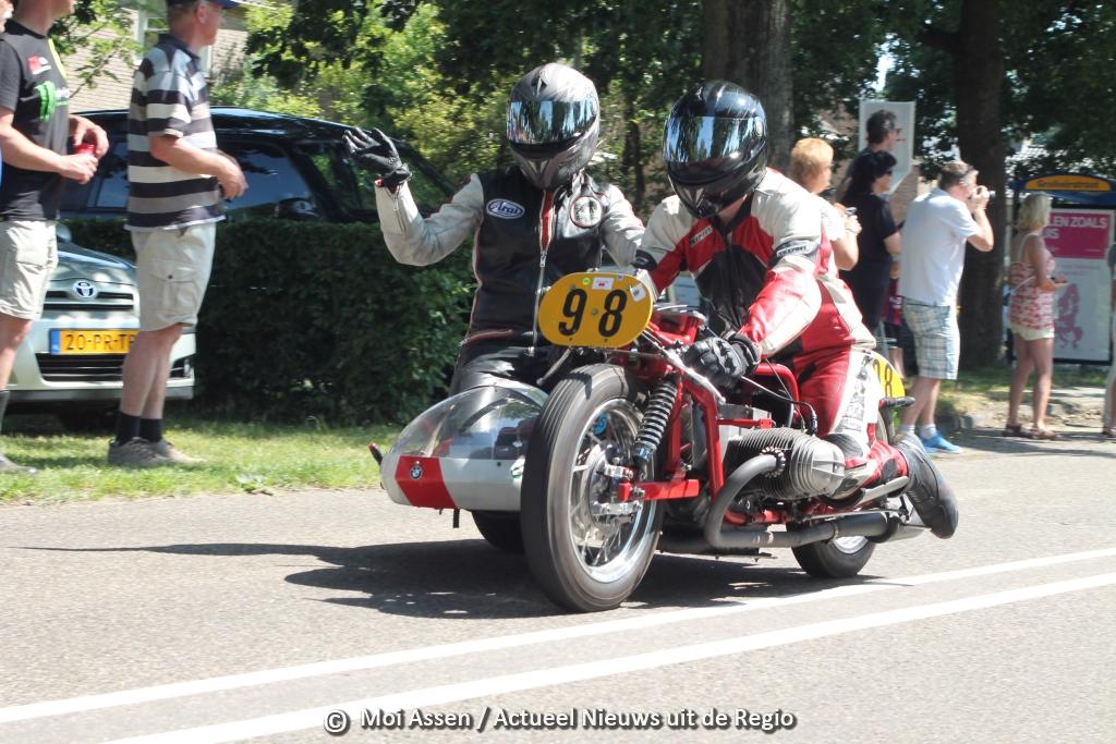 Historische TT Parade in Rolde