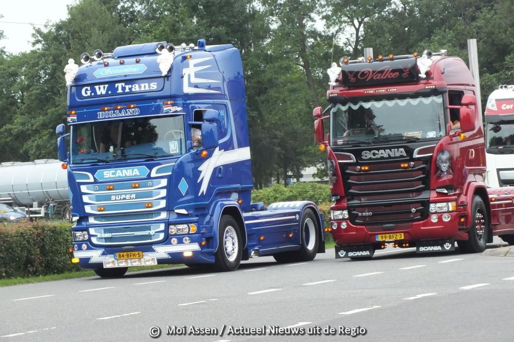 Assen zwaait uit: de grote uittocht na het Truckstar Festival 2015