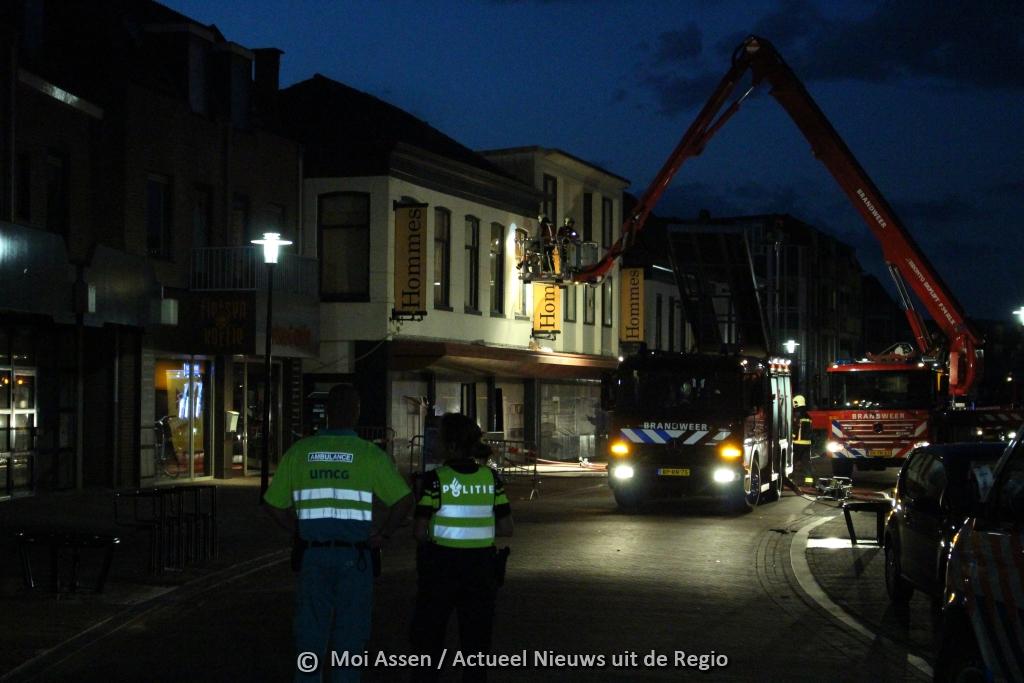 Politie doet onderzoek naar brand Groningerstraat in Assen