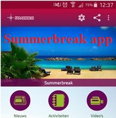 Hij is er eindelijk: de Summerbreak app