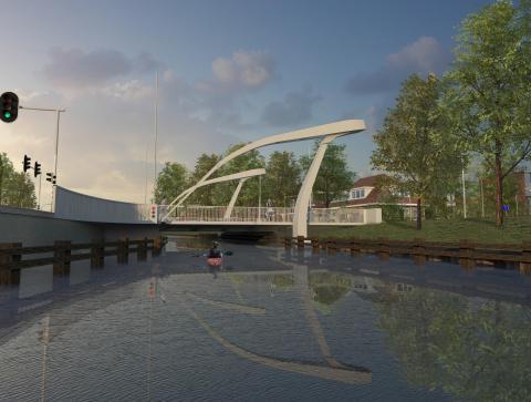 Weiersbrug tussen Nobellaan/ Weiersstraat Assen wordt afgesloten voor tests