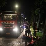 Brand in schuurtje aan de Witterweg in Bovensmilde