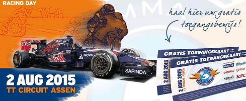 Gamma Racing Day 2015 op het TT-circuit van Assen