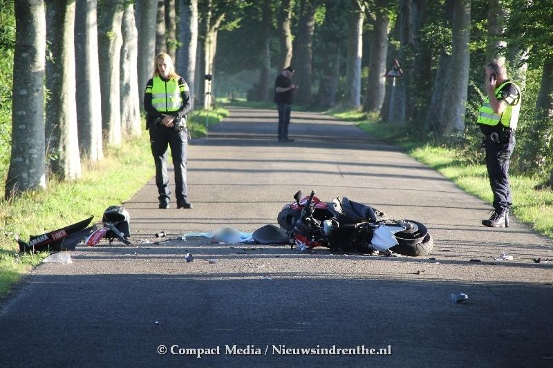 Scooterrijder overleden op de Eekhoornstraat in Donderen
