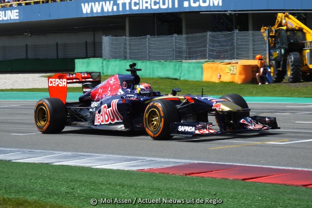 GAMMA Racing Day: Opnieuw races met Formule1-bolides