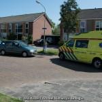 Fietser aangereden door automobilist op de Paganinilaan in Assen