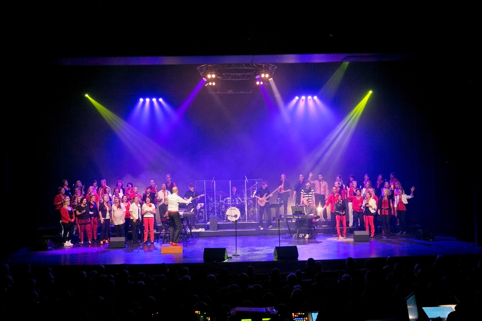 Groot concert Gospelkoor Reflection Assen
