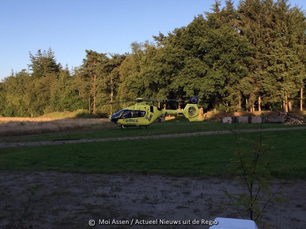 Eenzijdig ongeval op A28 bij Beilen ( Update)