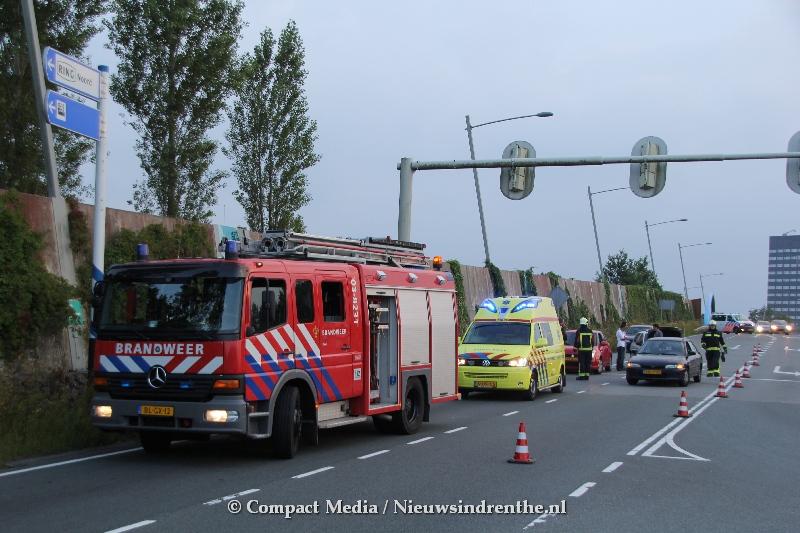 Meerdere gewonden bij verkeersongeval in Assen