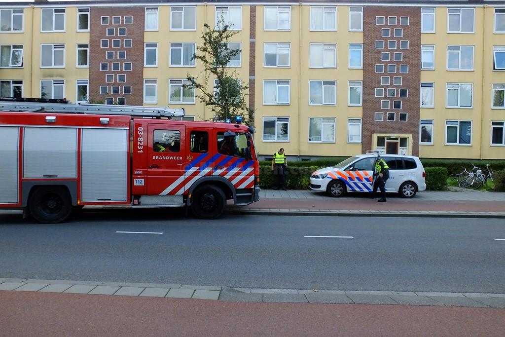 Automatisch brandalarm in woning aan de Nobellaan in Assen