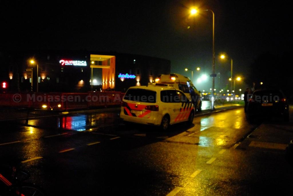 scooterrijder gewond na aanrijding op rotonde Marsdijk-Peelo