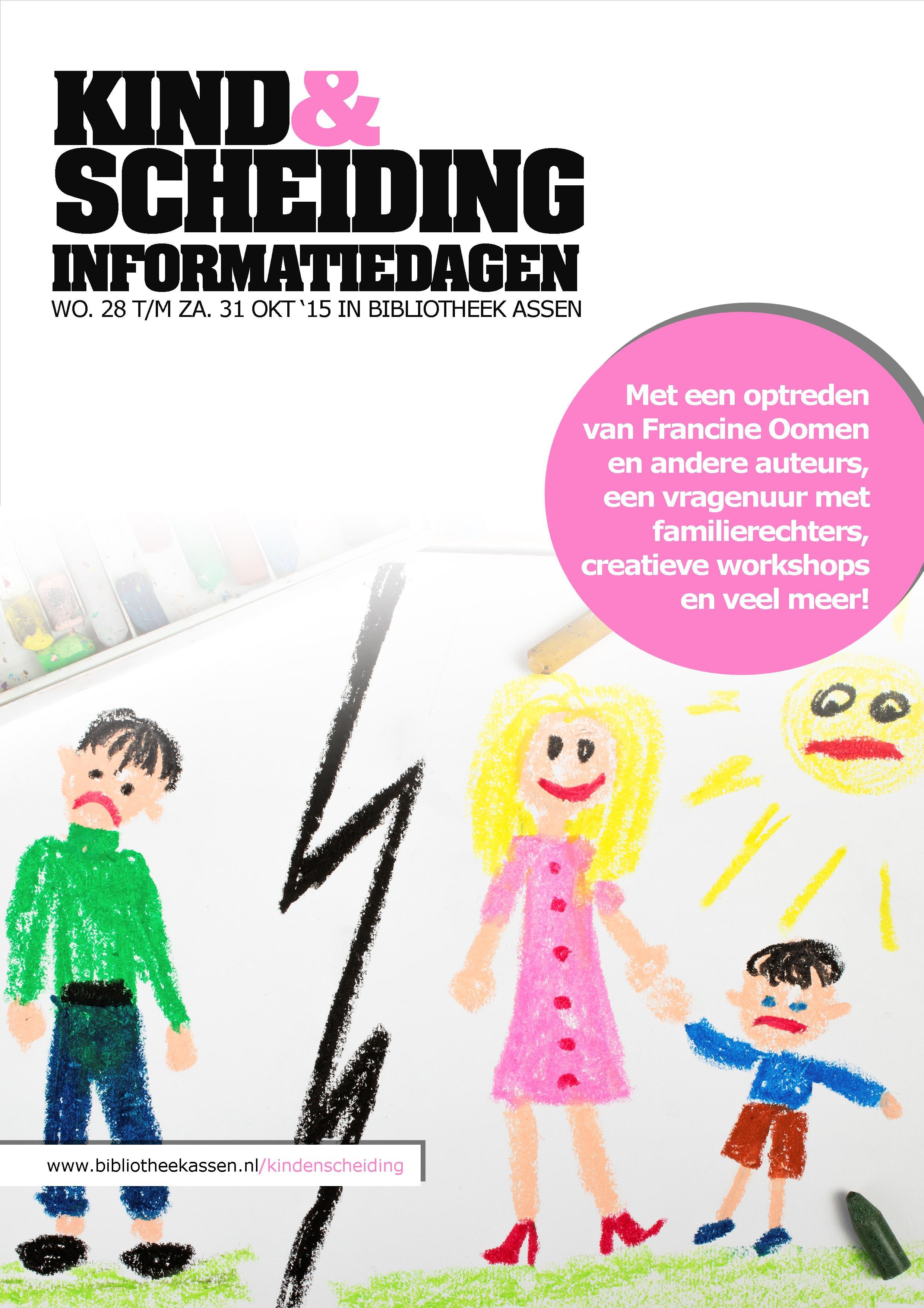Kind & Scheiding informatiedagen in Bibliotheek Assen