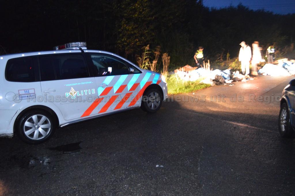 Vandalen dumpen vuilniszakken met afval in natuurgebied bij Assen(Update Foto's)