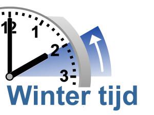 Wintertijd gaat vannacht in