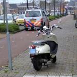 112 Kort: Scooter onderuit in Assen