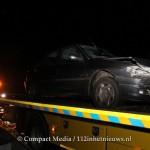 Eenzijdig verkeersongeval op de A28 bij Assen