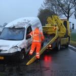 112 Kort: Auto van de weg op Koelenweg Huis ter Heide