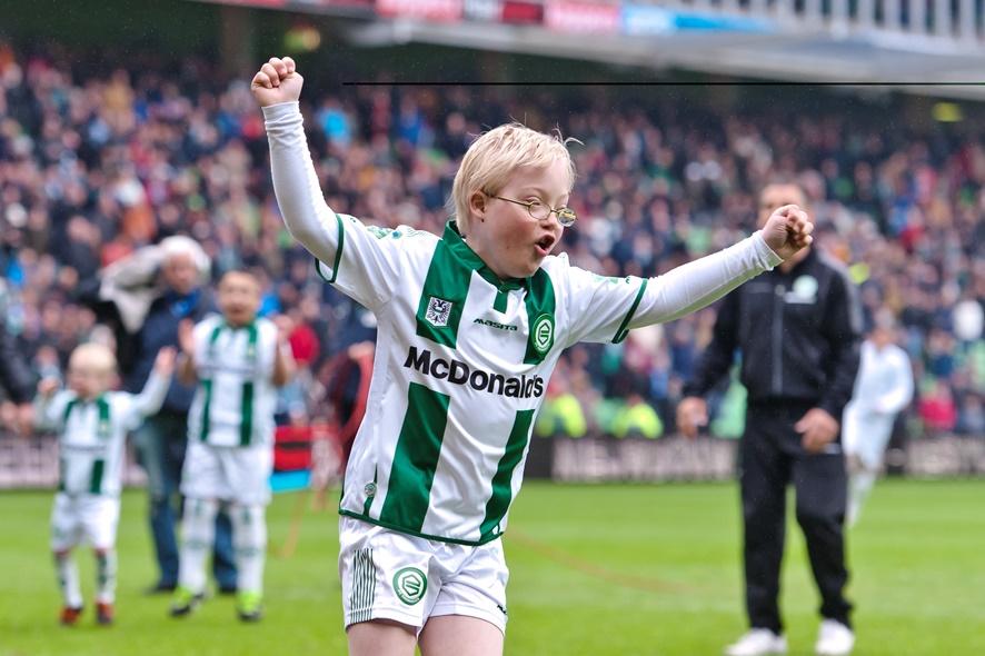 Alfa-college en FC Groningen in actie voor Kids United