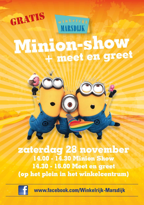 Winkelrijk Marsdijk in Assen; Minion Paradise