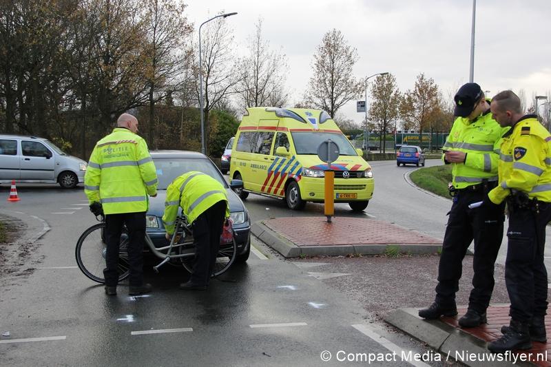Vrouw gewond bij ongeval in Assen