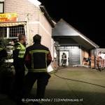 Video:Brand in bakkerij Fleddérus aan de Brinkstraat in Zeijen