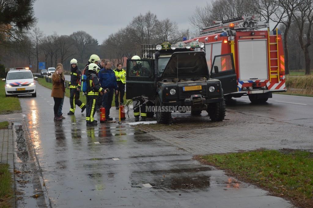 Autobrand Norgervaart Huis ter heide