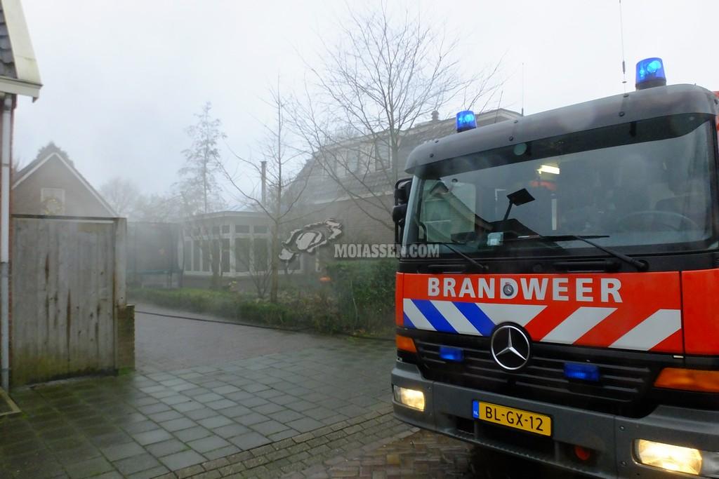 Video: Woningbrand aan de Wethouder Buningstraat in Assen