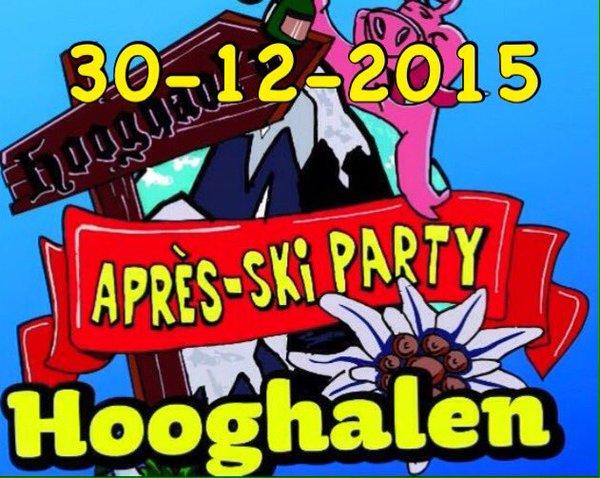 Hossen en feesten tijdens Mega Après-skifeest Hooghalen